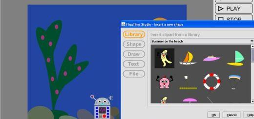 FluxTime, crea sencillas animaciones para niños