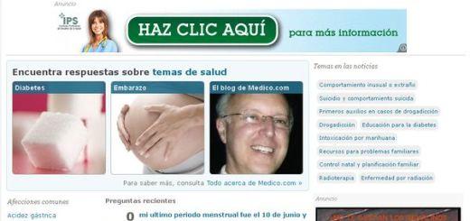 Medico.com, un portal de información y consultas médicas