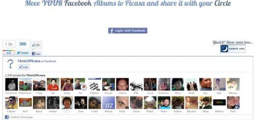 Move2Picasa, haz una copia de las fotos de tu Facebook en Picasa