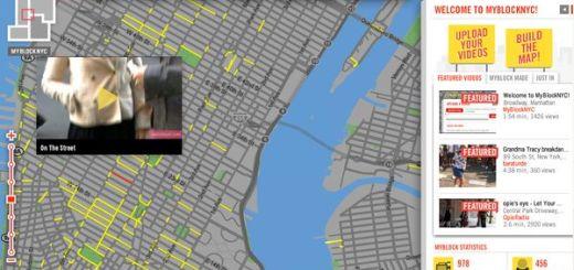 MyBlockNYC, Mashup de Google Maps con vídeos de la vida neoyorkina