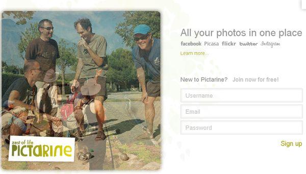 Pictarine, gestiona todas tus imágenes locales y de internet desde el mismo sitio