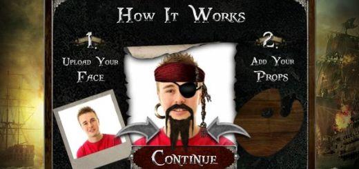Pirate Yourself, retoca tu foto al estilo Piratas del Caribe