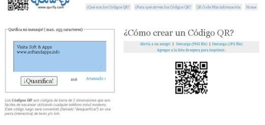 Qurify, comparte textos mediante códigos QR