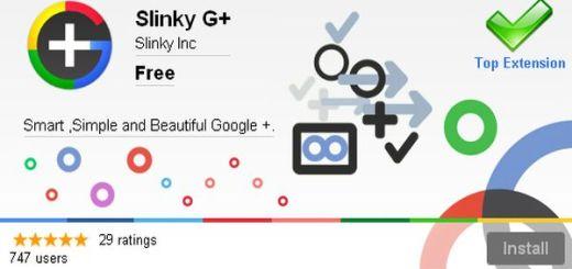 Slinky G+, un todo en uno para Google+ (Chrome)