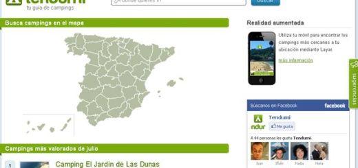 Tendumi, una completa guía de campings españoles