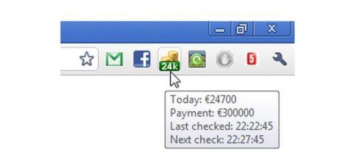 Visualiza cómodamente tus ingresos en Adsense con una extensión de Chrome