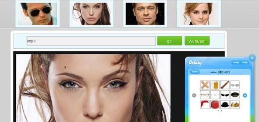 Facescribble, aplica divertidos efectos a la imagen de un rostro y compártela