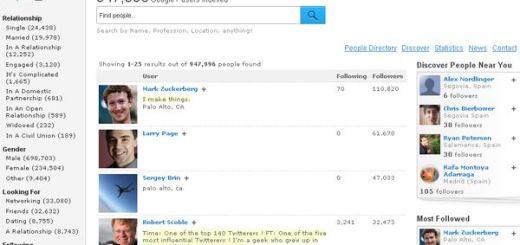 Find People on Plus, el directorio de usuarios de Google+