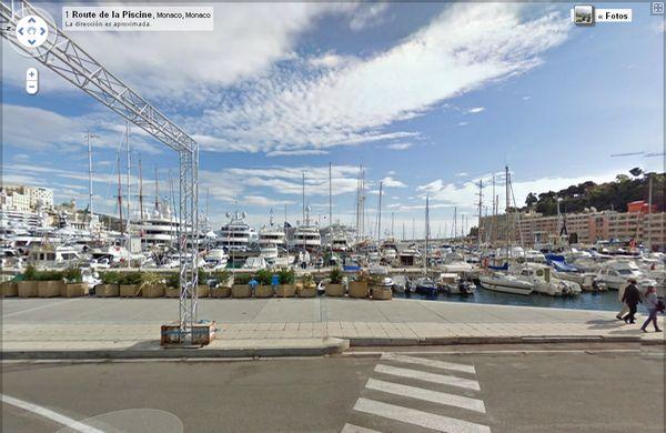 Mónaco ya está en Street View