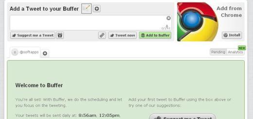 Buffer, un servicio que almacena tus tweets y los publica automáticamente cuando tu timeline está más activa