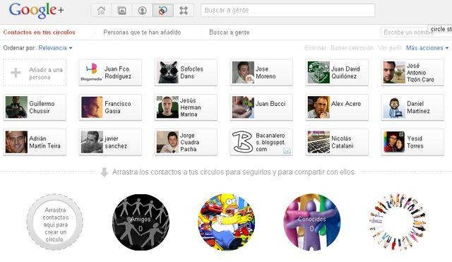 ChangeCircle Change Circle Images for Google Plus, dale un nuevo look a tus círculos de Google+ (Chrome)
