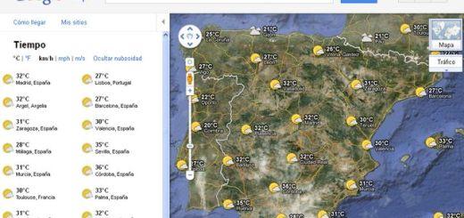 Google Maps estrena nueva capa del tiempo con previsiones a 5 días