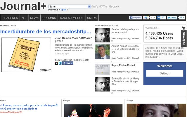 Journal+, un directorio y magazine con las publicaciones más interesantes de Google+