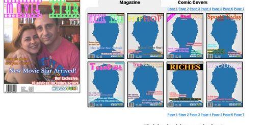 MagoFun, otra opción online para crear fotomontajes con portadas de revistas