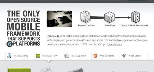 PhoneGap, entorno de desarrollo Open Source para aplicaciones móviles (Android, iOS, Symbian, webOS y BlackBerry)