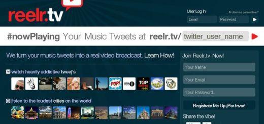 Reelr.tv, crea tu canal de videoclips musicales con un hashtag en Twitter