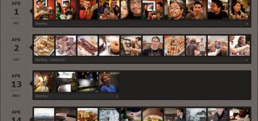 Snapjoy, genera una galería con tus fotos ordenadas por fecha de forma automática