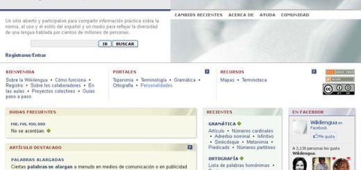Wikilengua, un wiki para conocer el uso correcto del español