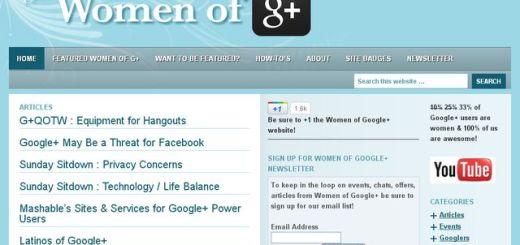 Women of Google+, directorio de féminas recomendables de seguir en Google+