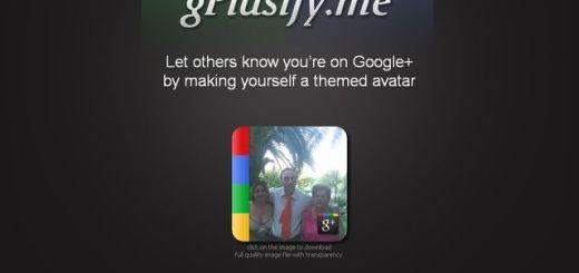 gPlusify, la forma más simple de crear una imagen de perfil para Google+