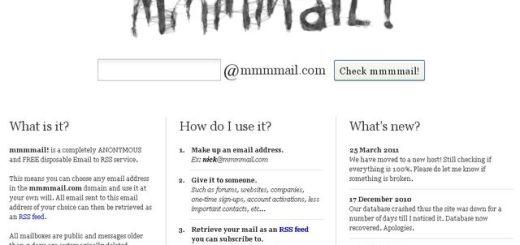mmmmail, crea una cuenta de email para seguir vía RSS