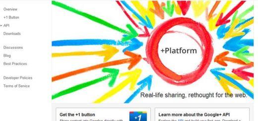 La noticia del día es que ya hay API para Google Plus