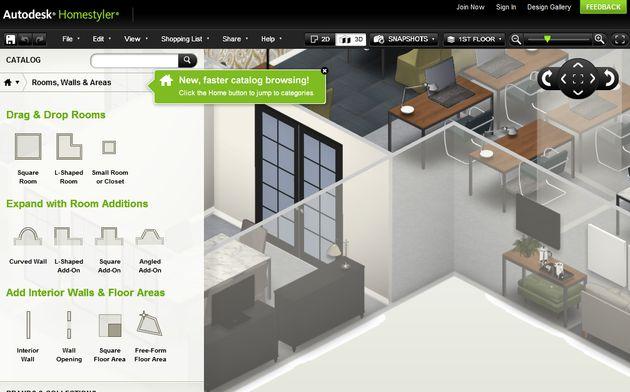 Autodesk Homestyler, diseña online la casa de tus sueños - Soft & Apps