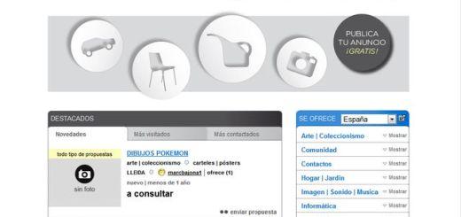Conmuto: portal de clasificados en español para vender, comprar y cambiar