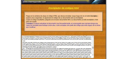Oculta el código fuente de tu web con este encriptador online