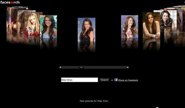 Facesearch, buscador de rostros de famosos y no famosos
