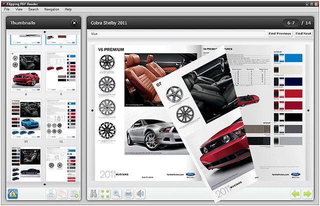 Flipping PDF Reader, visualiza tus documentos pdf como si se tratasen de una revista