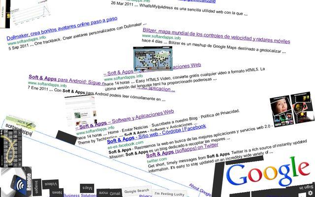 Google Gravity, un Google afectado por la ley de la gravedad