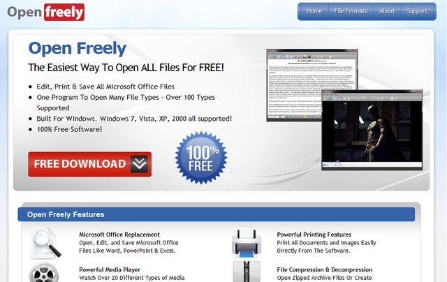 open freely aplicaci n gratuita para abrir y trabajar con
