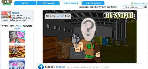 Pictogame, crea juegos flash con tu rostro o el de tus amigos
