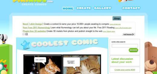 PikiKids, crea tiras cómicas gratis y online