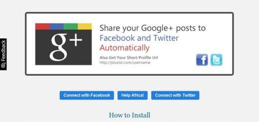 +Plusist, envía automáticamente tus publicaciones de Google+ a Facebook y Twitter