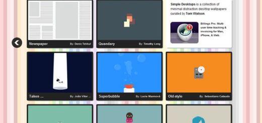 Simple Desktops, descarga gratuita de bonitos wallpapers de aspecto minimalista