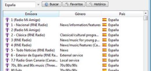 TapinRadio, escucha y graba miles de emisoras de radio de todo el mundo