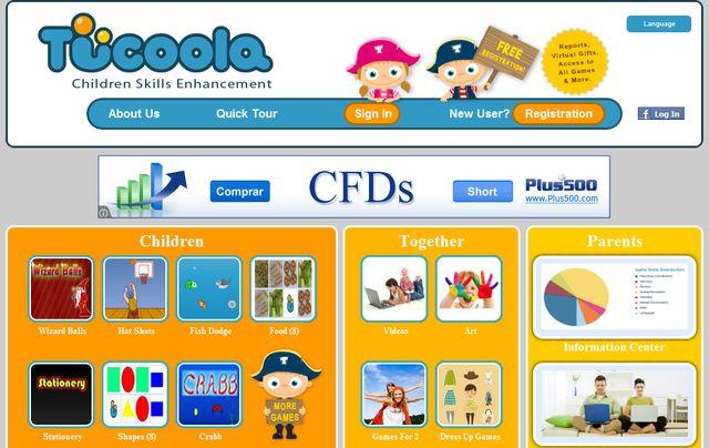 Tucoola Portal Con Juegos Educativos Para Ninos De 2 A 8 Anos