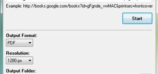 Google Books Downloader, descarga libros de Google Books en pdf o jpg
