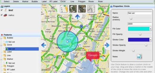 Build-A-Map, excelente editor visual para crear fácilmente toda clase de mapas interactivos