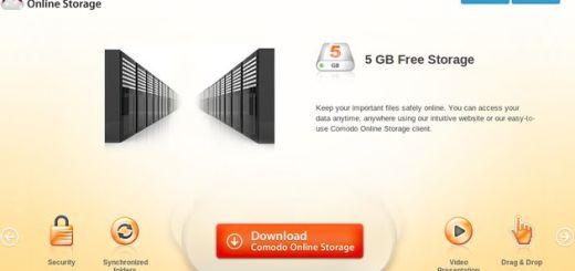 Comodo Online Storage, 5 Gb gratuitos para almacenamiento o backups
