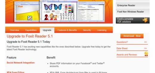 Disponible la versión 5.1 de Foxit Reader que incluye lectura de texto