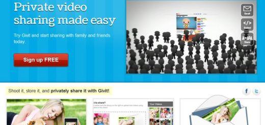 Givit, comparte vídeos privados sólo con quien tu quieras
