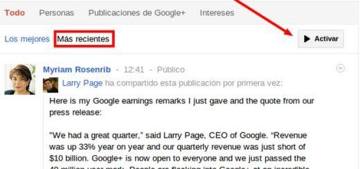 Nuevas mejoras en Google+, llegan las búsquedas en tiempo real y los demandados hashtags