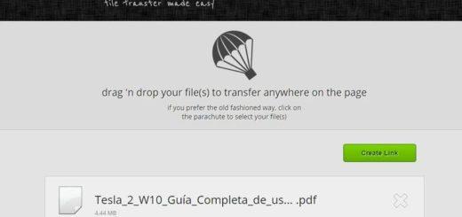 JustBeamIt: una web para enviar archivos sin importar su tamaño