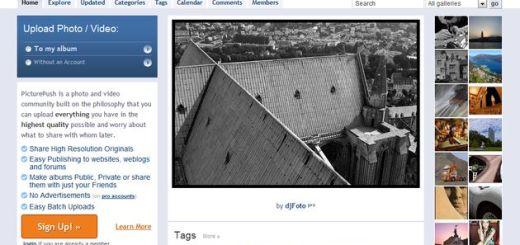 Picturepush: almacena, comparte y crea álbumes con tus imágenes y fotos