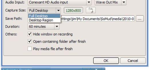SMRecorder: aplicación gratuita para realizar screencasts, grabar sólo el audio o capturar nuestra webcam