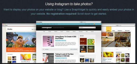 SnapWidget, un widget gratuito para insertar las fotos de Instagram en tu blog o web