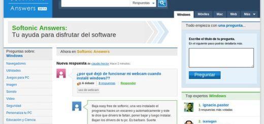 Softonic Answers, la sección de ayuda sobre software del conocido portal de descargas